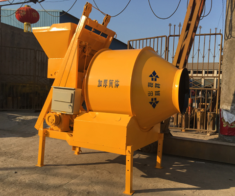 JZM350 Friction-driven Drum Concrete Mixer