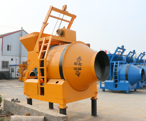 JZM500 Friction-driven Drum Concrete Mixer