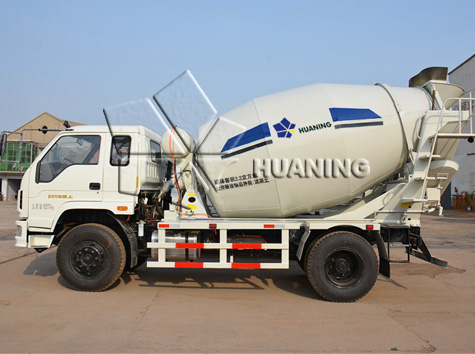 Six Cubic Meters(6m3) Concrete Truck