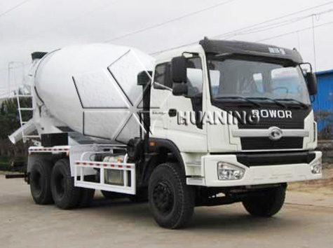Eight Cubic Meters(8m3) Concrete Truck