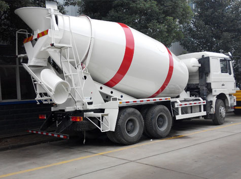 Ten Cubic Meters(10m3) Concrete Truck